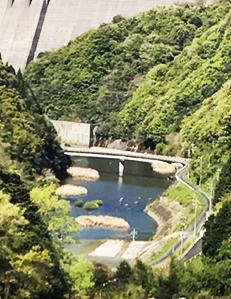 川の風景写真